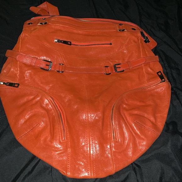 Andrew Marc Handbags - Orange Andrew Marc Leather bag